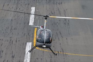 Полет на вертолете Robinson R22