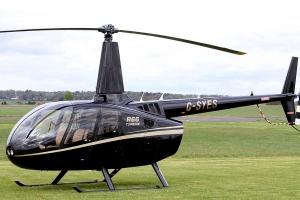 Полет на вертолете R66
